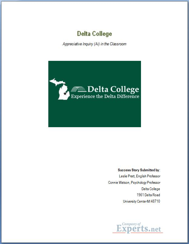 Delta College Ai Success Story